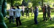 Chi Kung demo van Cosima Scheuten van Chi Kung Amsterdam in het Rembrandtpark!